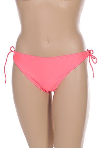 Bas de maillot de bain orange FEI pour femme