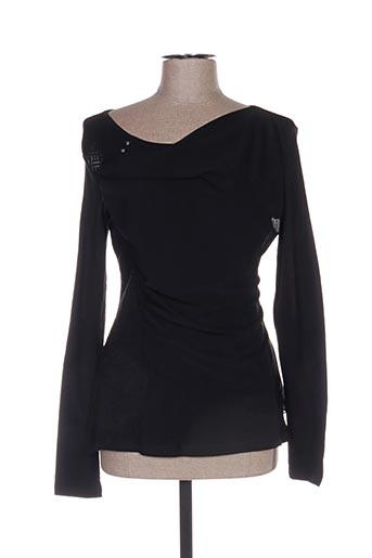 T-shirt manches longues noir ANGELS NEVER DIE pour femme