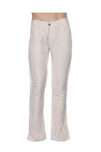 Pantalon casual beige BRAD BURNS pour homme
