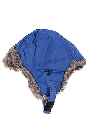 Bonnet bleu TIMBERLAND pour garçon