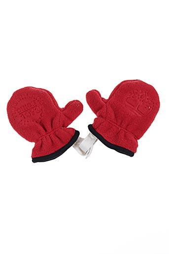 Gants rouge TIMBERLAND pour garçon