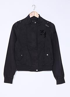 Veste casual noir DDP pour fille