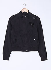 Veste casual noir DDP pour fille seconde vue