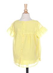 Blouse manches courtes jaune MAYORAL pour fille seconde vue
