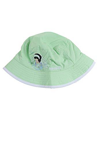 Chapeau vert REEBOK pour fille