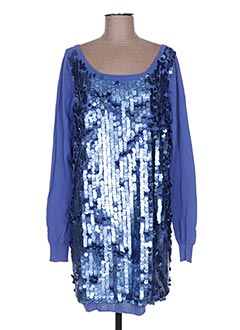 Robe pull bleu LIU JO pour femme