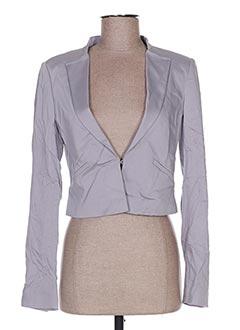 Veste chic / Blazer gris LIU JO pour femme