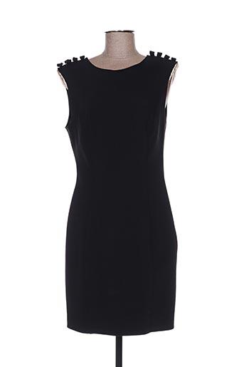 Robe mi-longue noir ELISABETTA FRANCHI pour femme
