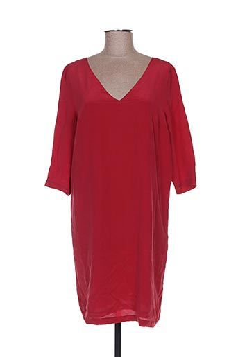 Robe mi-longue rouge BELAIR pour femme