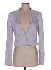 Veste chic / Blazer gris LIU JO pour femme seconde vue