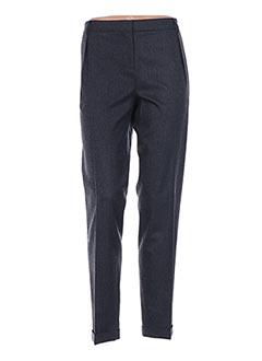 Pantalon 7/8 gris ANTONELLI FIRENZE pour femme
