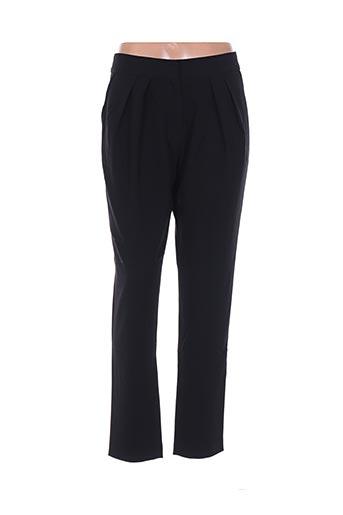 Pantalon chic noir BEL AIR pour femme