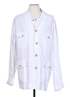 Veste casual blanc PETER COFOX pour homme