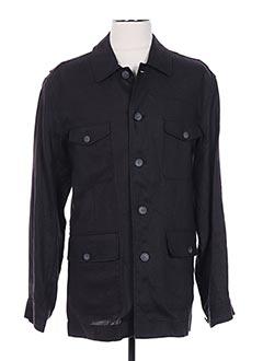 Veste casual noir PETER COFOX pour homme