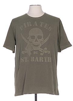 Produit-T-shirts-Homme-MC2 SAINT BARTH