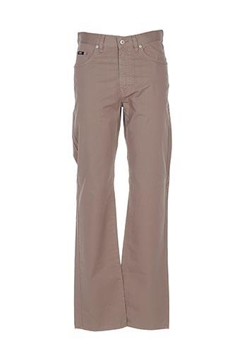 Pantalon casual marron HUGO BOSS pour homme