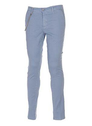 Pantalon casual bleu MANUEL RITZ pour homme