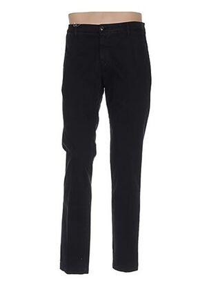 Pantalon casual noir MANUEL RITZ pour homme
