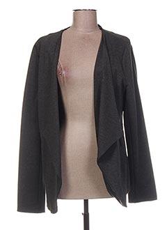 Veste casual gris LA FEE MARABOUTEE pour femme
