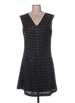 Robe courte noir ET COMPAGNIE pour femme
