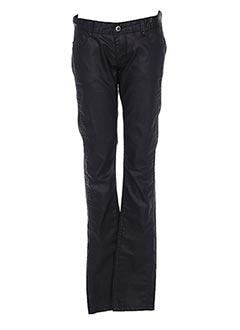Pantalon casual noir PEPE JEANS pour fille