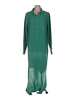 Robe longue vert CROSSLEY pour femme