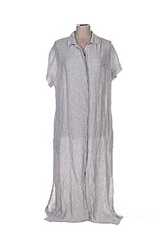 Robe longue gris CROSSLEY pour femme