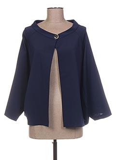 Veste chic / Blazer bleu CRISTINA EFFE pour femme