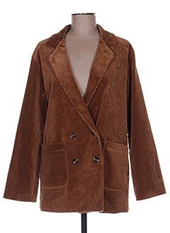 Veste casual marron ANNA LYON pour femme