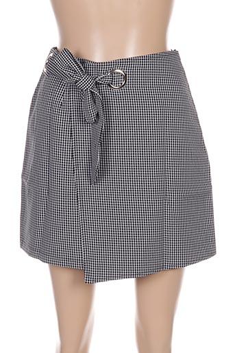 Jupe courte noir CERISE BLUE pour femme