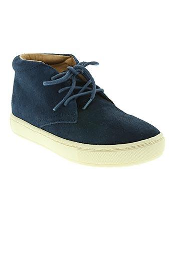 Bottines/Boots bleu RALPH LAUREN pour garçon