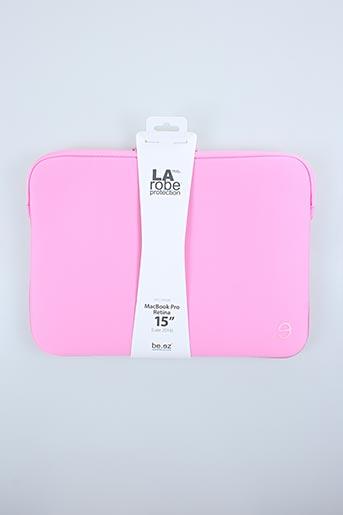 Pochette rose BE.EZ pour femme