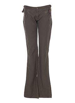 Pantalon casual vert REPLAY pour femme