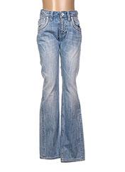 Jeans coupe slim bleu TEDDY SMITH pour garçon seconde vue