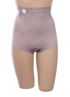 Culotte gainante gris SARA BLAKELY pour femme