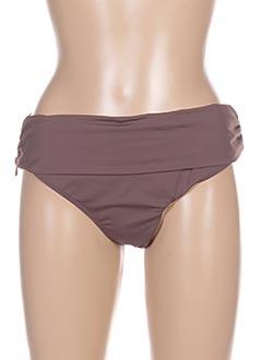 Bas de maillot de bain marron AUBADE pour femme