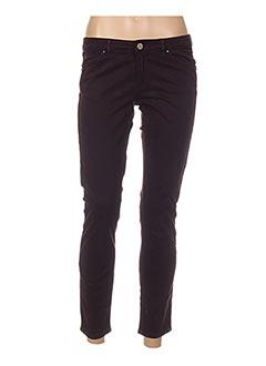 Pantalon casual violet I.CODE (By IKKS) pour femme
