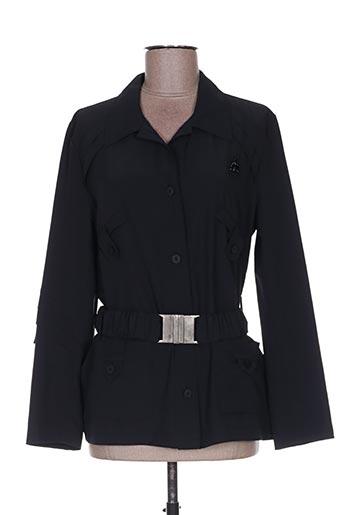 Veste casual noir CLAUDE BAUER pour femme