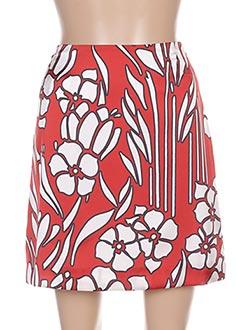Jupe courte rouge DANIEL HECHTER pour femme