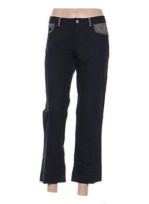 Pantalon 7/8 noir EMA TESSE pour femme