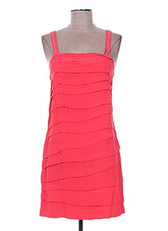 Robe courte rouge EMA TESSE pour femme