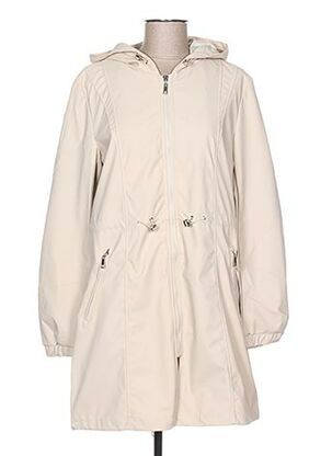 Imperméable/Trench beige SOFTY pour femme