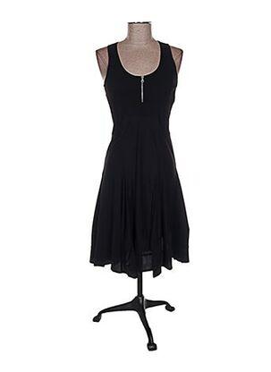 Robe mi-longue noir E-BRYDE pour femme
