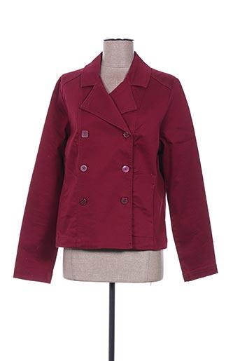 Veste casual rouge CAPTAIN TORTUE pour femme