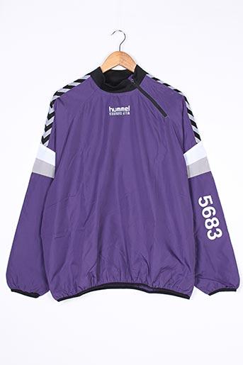 Coupe-vent violet HUMMEL pour homme