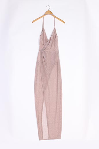 Robe longue rose ASOS pour femme