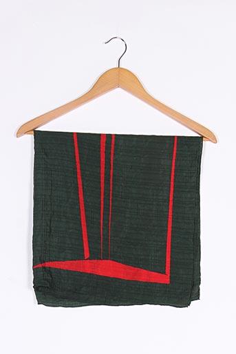 Foulard vert FISBA STOFFELS pour femme