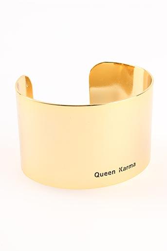 Bracelet Manchette jaune BANGLE UP pour femme
