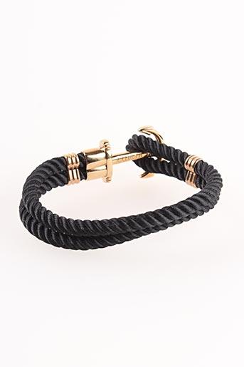 Bracelet noir PAUL HEWITT pour homme