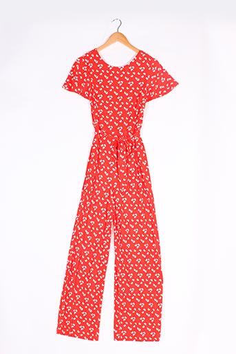 Combi-pantalon rouge BODEN pour femme